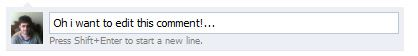 Edit comment in facebook 2