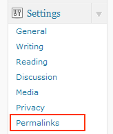 Permalinks in wordpress