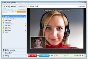 skype voice chat