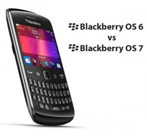 Blackberry os6 vs os7