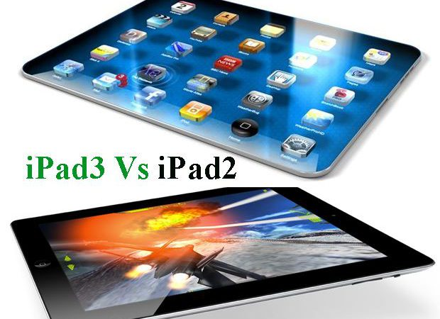 Difference Between iPad2 and iPad 3