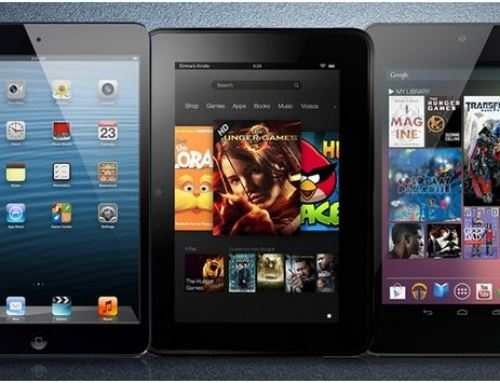 Difference between ipad mini, Nexus 7 and Kindle fire 7 HD