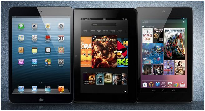 ipad mini vs Nexus 7 vs kindle-fire-hd