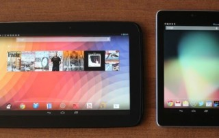 Comparison between Nexus 7 and Nexus 10