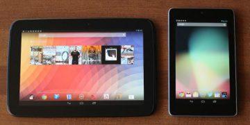 Comparison between Nexus 7 and Nexus 10