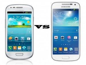 Comparison between s3 mini and s4 mini