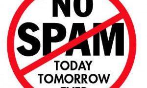 Stop spamming in wordpress