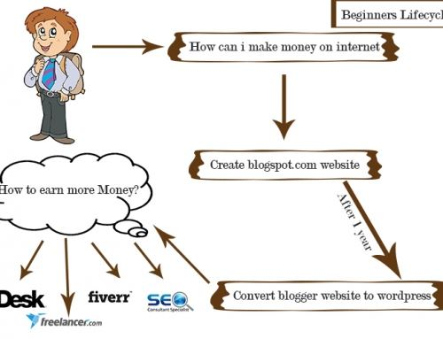 Life cycle of newbie blogger