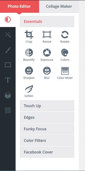 BeFunky Photo Editor - Google Chrome Extension