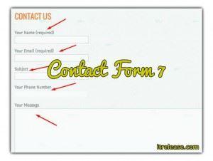 wordpress urdu tutorial of contact form-7