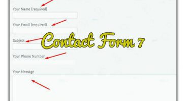 wordpress urdu tutorial of contact form-7