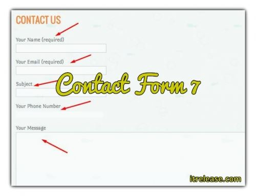 Add contact form 7 in WordPress – urdu tutorial video
