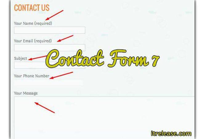 Add contact form 7 in WordPress – urdu tutorial video
