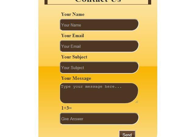 Create contact form in html and php – Urdu-hindi video tutorial