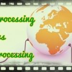 Online processing system vs batch processing system
