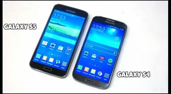 comparison between samsung galaxy s4 and s5