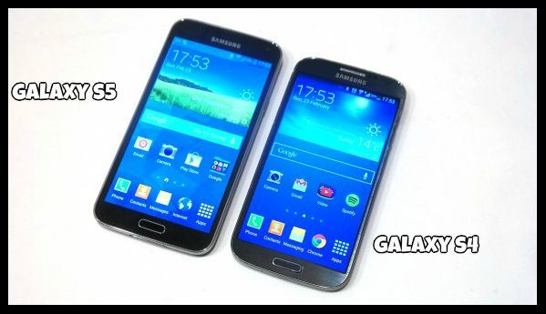 Difference between Samsung Galaxy s4 and s5