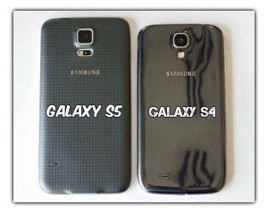 Galaxy s4 vs s5