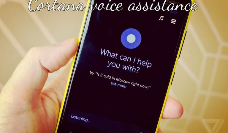 Microsoft announces Cortana as competitor to Apple