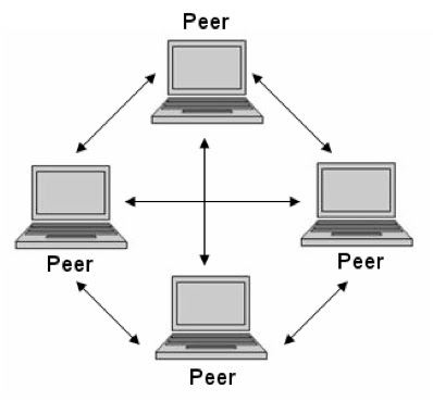 Peer to peer network operating system