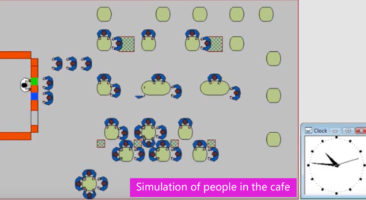 Example of simulation