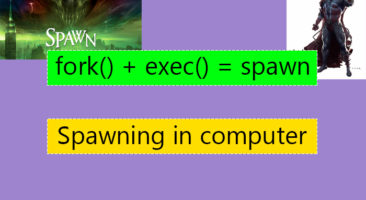 Spawning in linux