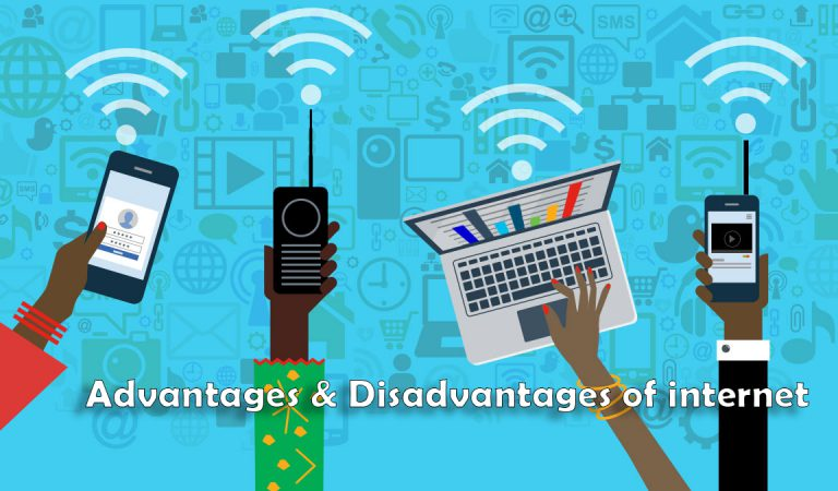 What are advantages and disadvantages of internet