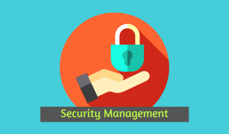 Importance of security management