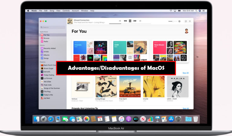 What are advantages and disadvantages of macOS