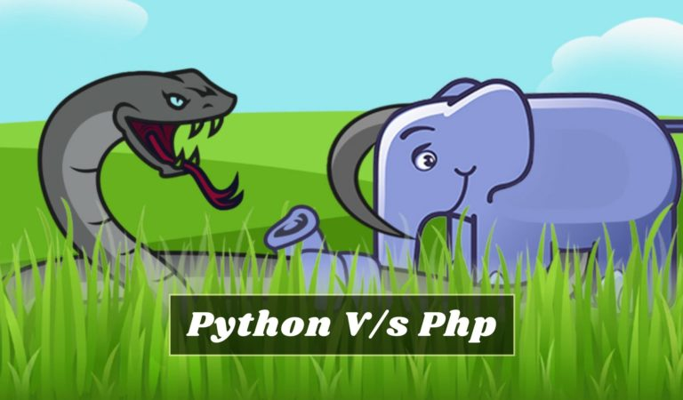 Difference between between python and php