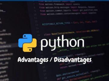 Benefits and drawbacks of python