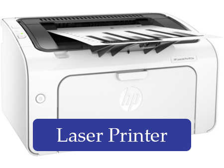 What are laser printers