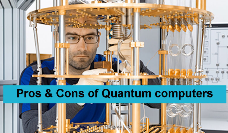 Pros and cons of quantum computers