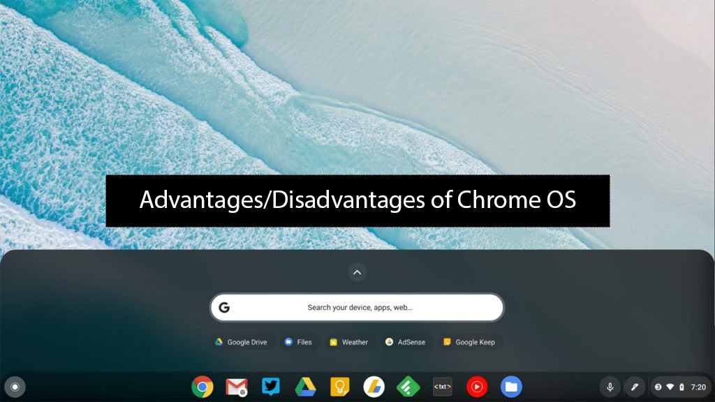 Pros and cons of Chrome Operating System (OS)