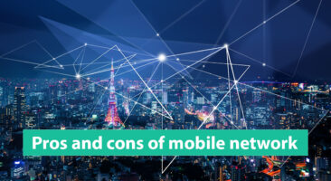Pros and cons of cellular network
