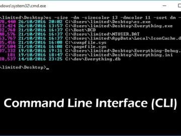 Features of Command Line inteface